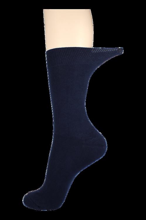 Men's Loose Top Socks Navy