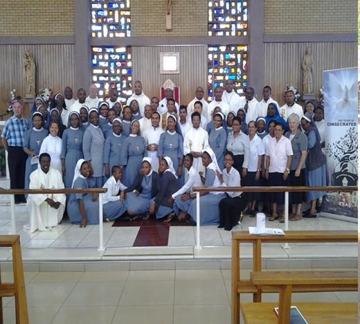 Para imam_biarawan_ti sekeuskupan Gaborone