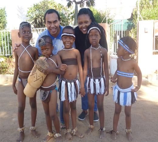 Hari budaya bersama anak-anak TKK