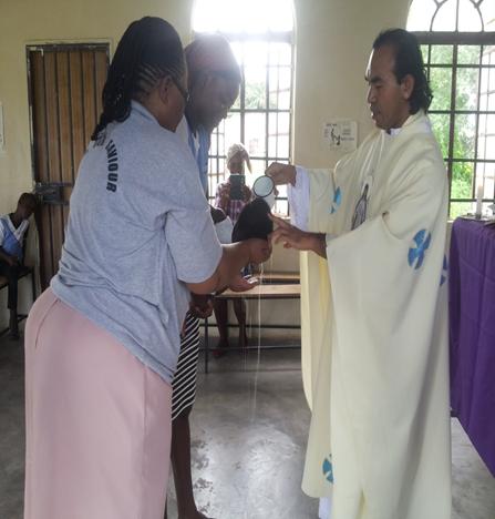 Pembabtisan di Paroki St Joseph Gumare