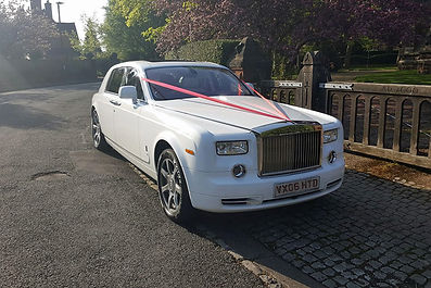 Rolls Royce Phantom Chauffeur Car