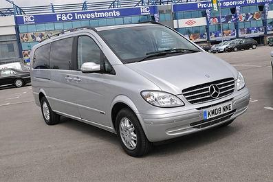 Mercedes Viano Chauffeur Car
