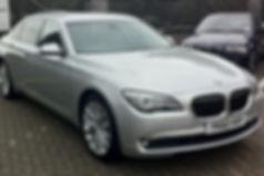 BMW 7 Series Chauffeur Car