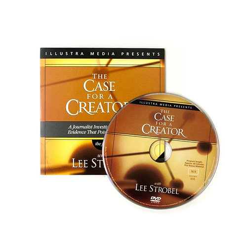 DVD - The Case For a Creator - Lee Strobel - SUGGESTED DONATION