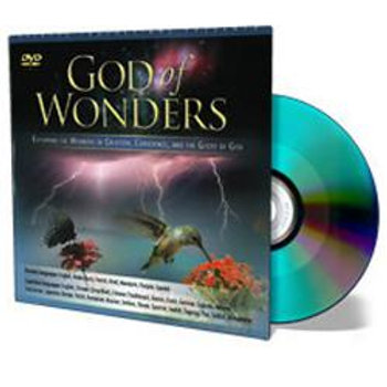 DVD - God of Wonders - Creation - SUGGESTED DONATION