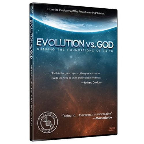 DVD - Evolution vs. God - Ray Comfort - SUGGESTED DONATION