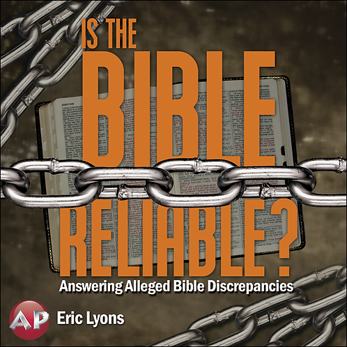 DVD - Is the Bible Reliable? - Apologetics Press - SUGGESTED DONATION
