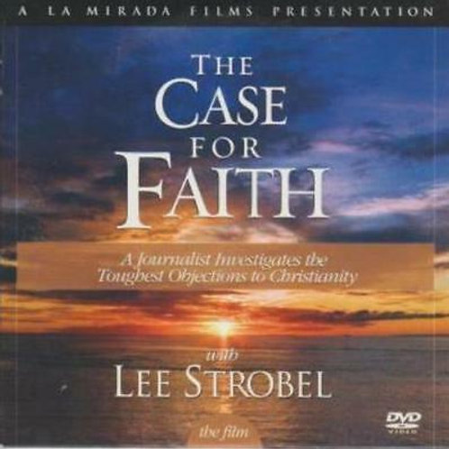 DVD - The Case for Faith - Lee Strobel - SUGGESTED DONATION
