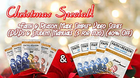 Christmas Special - DVDs & Student Manua