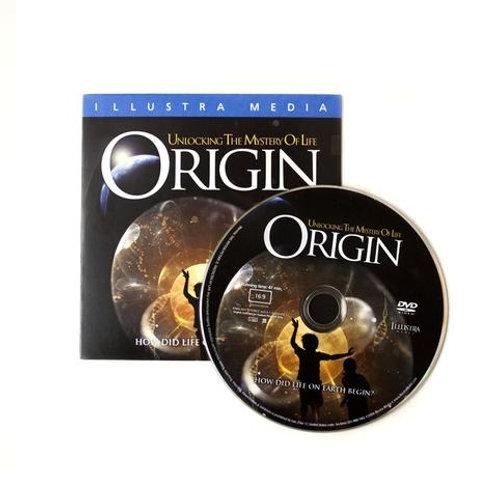 DVD - Origin - Illustra Media - SUGGESTED DONATION