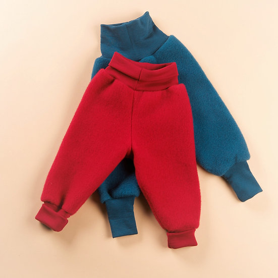 Baby  fleece med linning
