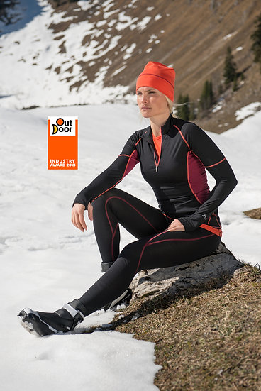 LøbeShirt - slim fit m.lynlås OutDoor