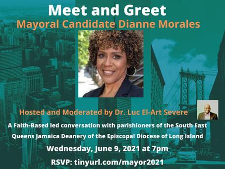 Meet & Greet - Mayoral Candidate Dianne Morales