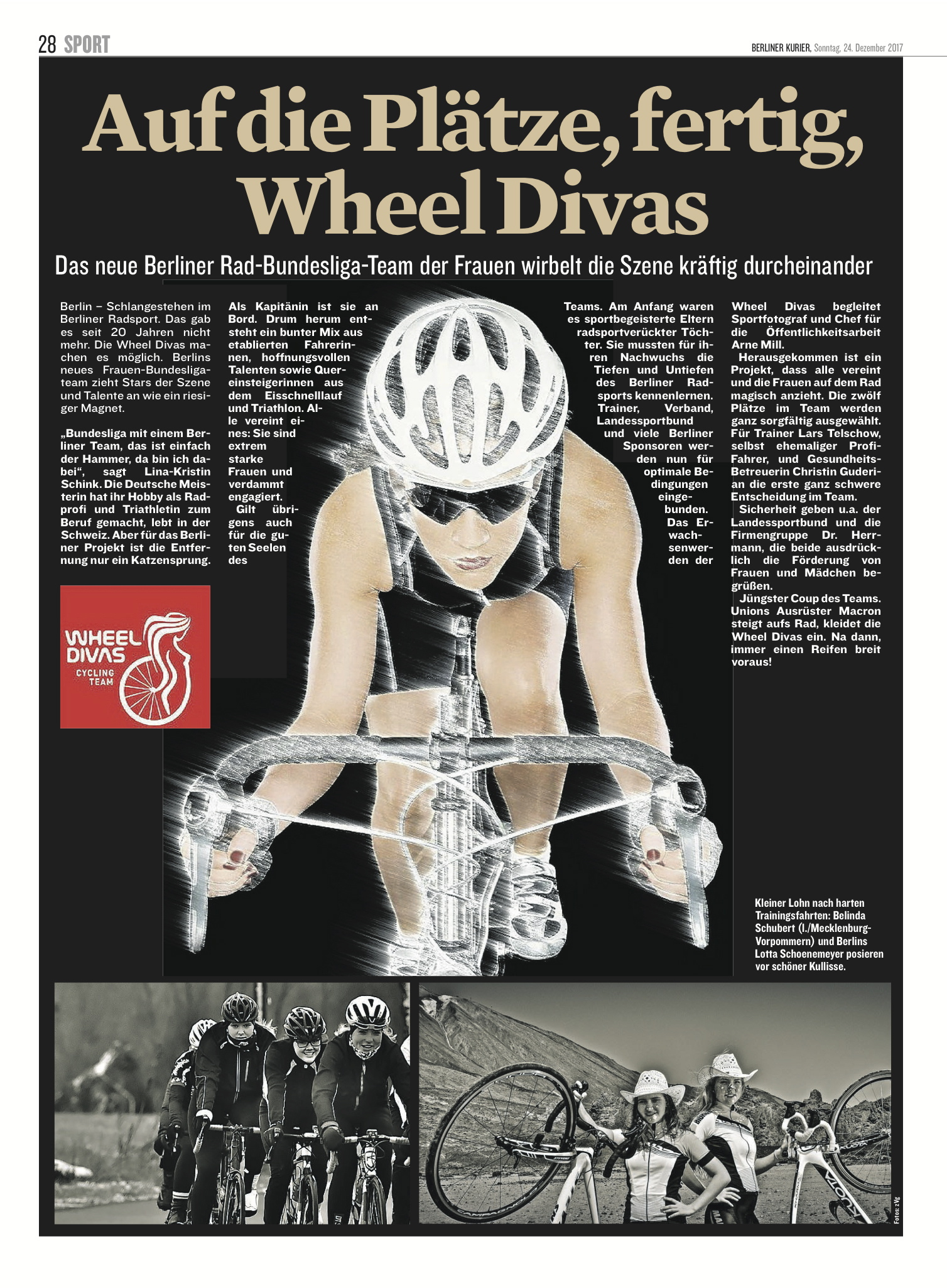 Wheel Divas - Berliner Kurier
