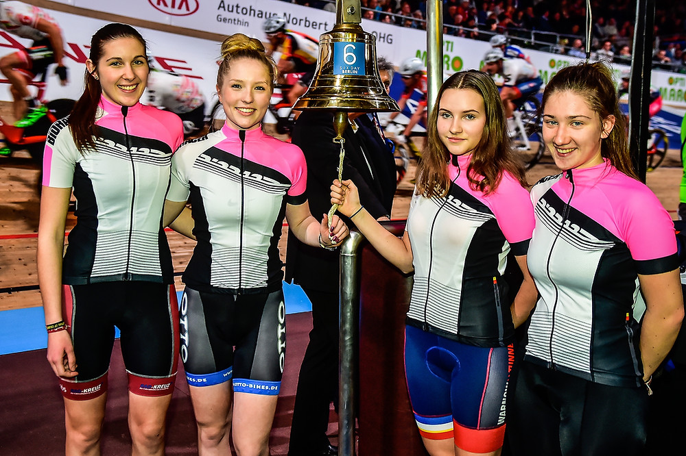 WHEEL DIVAS bei den Six Day Berlin
