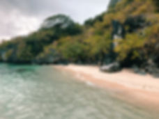 Trinidad Beach, El Nido, Palawan, Filipinas