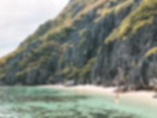 Talasyan Beach, El Nido, Palawan, Filipinas