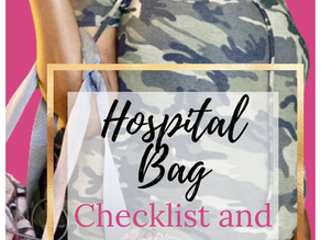 What You Actually Need in Your Hospital Bag For Labor and Delivery Check List
