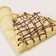 クレープ チョコバナナカスタード