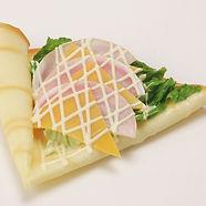 クレープ ハムチーズ