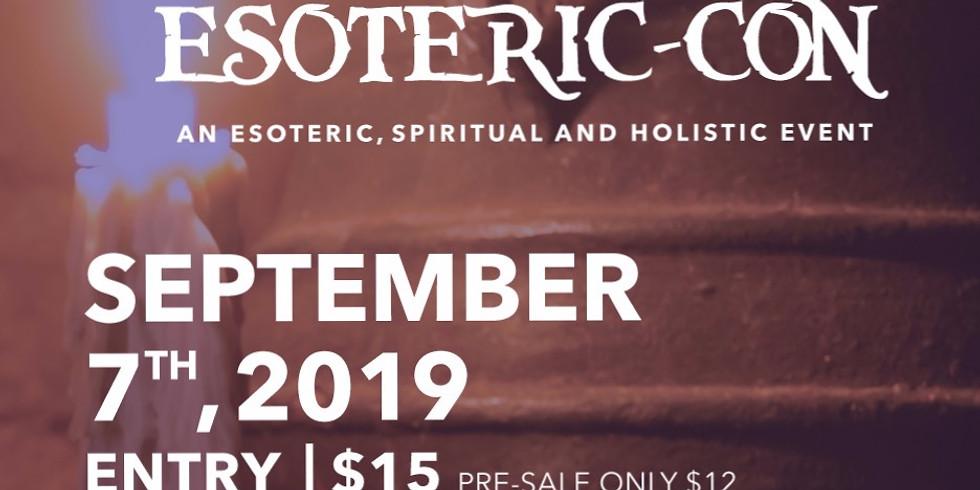 Esoteric-con Esoteric, Spiritual and Holistic Event