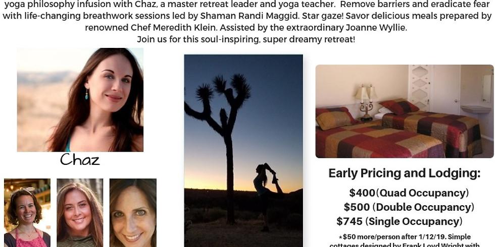 Desert Dreaming Yoga/Breathwork Retreat