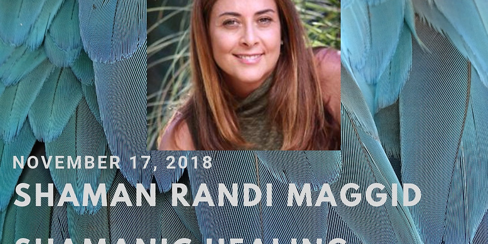 Special Private sessions with Shaman Randi Maggid at Solar Lotus