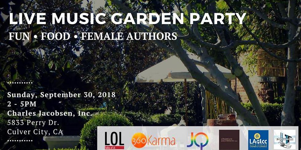 Live Music Garden Party