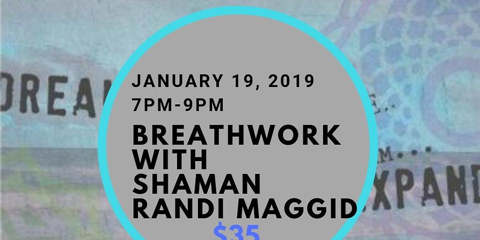 Breathwork with Randi Maggid, Shaman