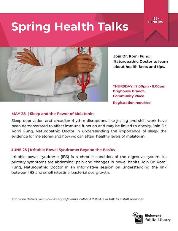Health Talks - May 28 & June 25 (1)-page