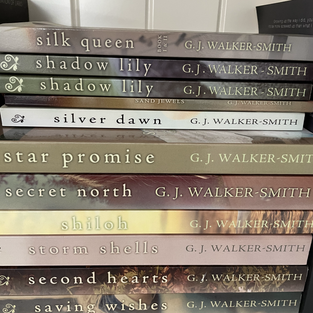 GJ Walker-Smith - I highly recommend all her books and have them all signed on my bookshelf.