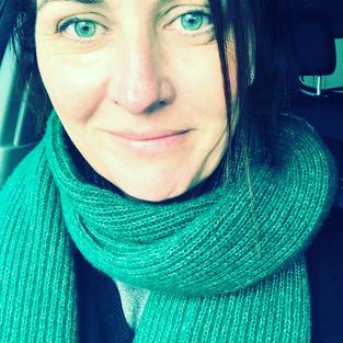I love my green scarf