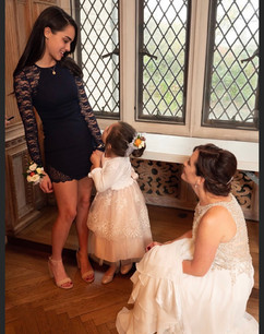 Bride and Daughters