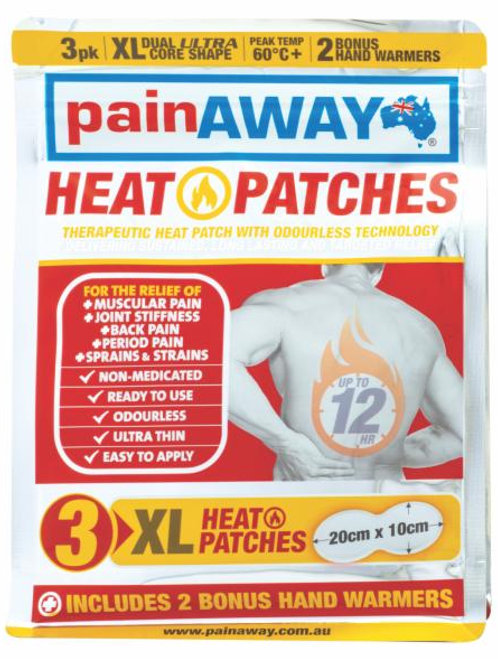 Pain Away Heat Patches