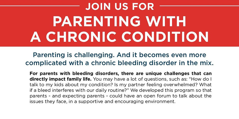 Parenting with a chronic condition