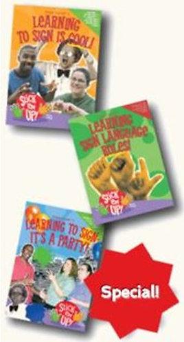 """""""Stick 'em Up!"""" 3 DVD Set"""