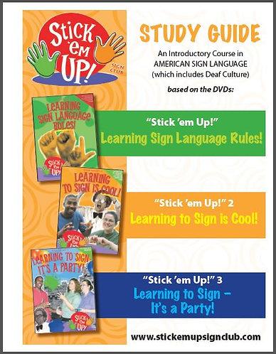 """""""Stick 'em Up!"""" - Study Guide"""
