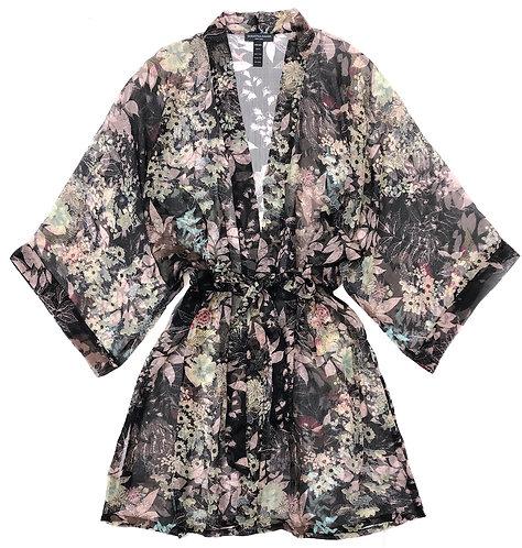 Midnight Jade Kimono