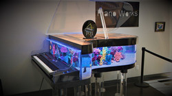 WHAM This hybrid piano aquarium at Piano Works Mall in East Rochester was created by the h