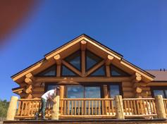 Canadian log restoration