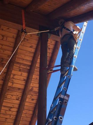 Jeff doing danger work