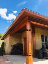 Wood restoration, La Veta, CO