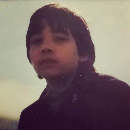 Olivier Dhénin enfant à Noirmoutier