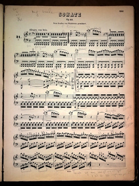 Beethoven, Sonate pour piano n°21 op. 53