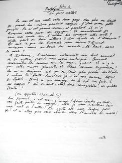 Manuscrit d'ANDREAS/MAELSTROM