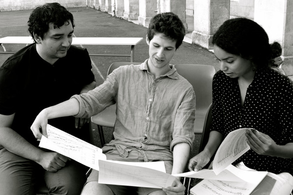 Olivier Dhénin, Lucien Julien-Laferrière, Nigji Sanges
