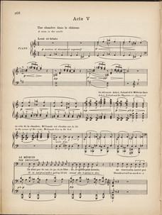 Partition de PELLÉAS ET MÉLISANDE de Claude Debussy