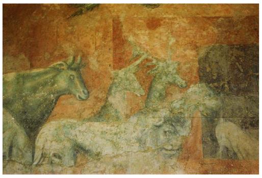 Fresque d'Uccello à Florence