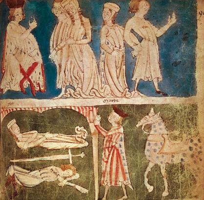 Légende de Tristan et Iseult : la mort des amants
