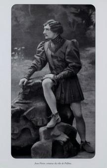 Jean Alexis Perier dans le rôle de Pelléas en 1902